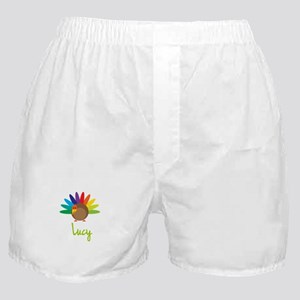 Lucy the Turkey Boxer Shorts