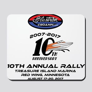 CGOAMN 10TH Anniversary Mousepad