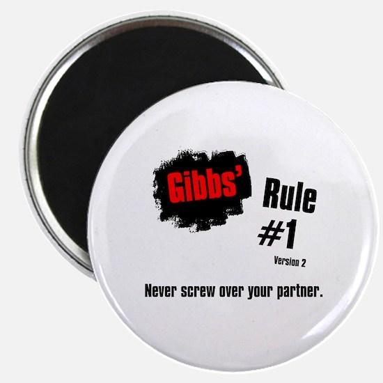"NCIS Gibbs' Rule #1 2.25"" Magnet (10 pack)"