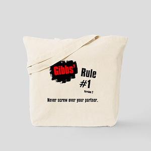 NCIS Gibbs' Rule #1 Tote Bag
