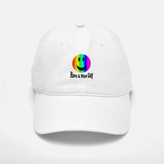 Have a nice gay Baseball Baseball Cap