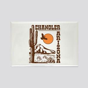 Chandler Arizona Rectangle Magnet