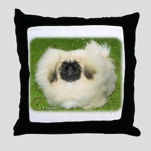 Pekingese 9W010D-064 Throw Pillow