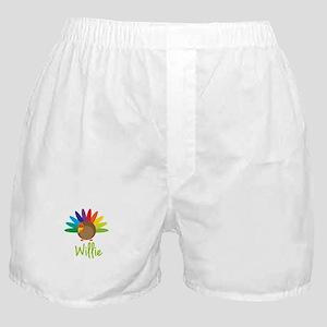 Willie the Turkey Boxer Shorts