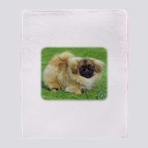 Pekingese 9W045D-034 Throw Blanket