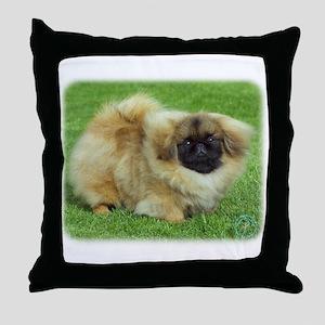 Pekingese 9W045D-034 Throw Pillow
