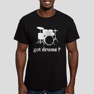 got drums ? Men's Fitted T-Shirt (dark)