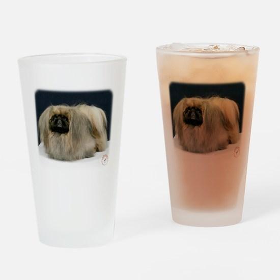Pekingese 9Y033D-027 Drinking Glass