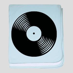 Vinyl Record baby blanket