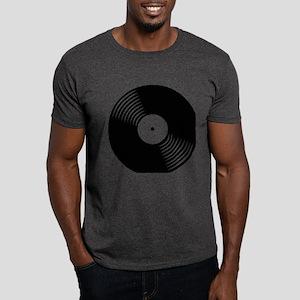 Vinyl Record Dark T-Shirt
