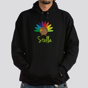 Stella the Turkey Hoodie (dark)