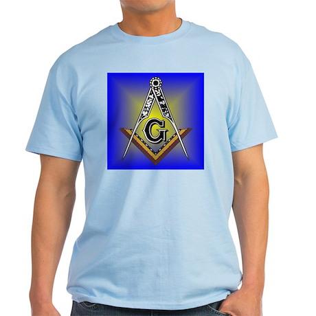 Masonic Square and Compass Light T-Shirt