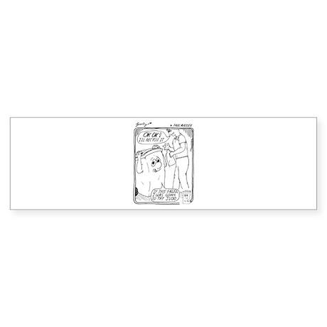 Recycle Sticker (Bumper)
