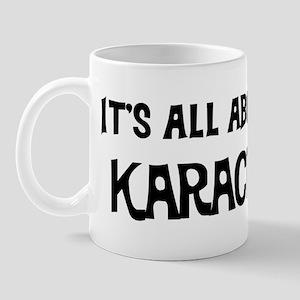 All about Karachi Mug