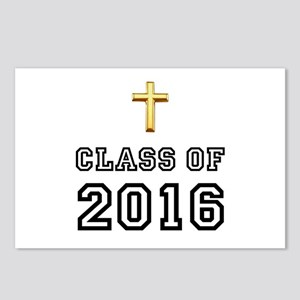Class Of 2016 Cross Postcards (Package of 8)