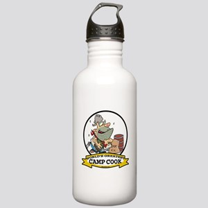 WORLDS GREATEST CAMP COOK Stainless Water Bottle 1