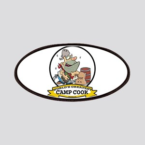 WORLDS GREATEST CAMP COOK Patches