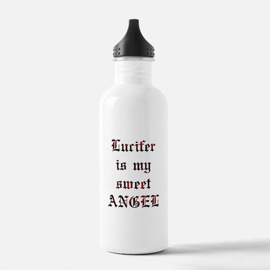 Lucifer Is My Sweet Angel Water Bottle