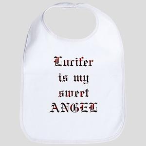 Lucifer Is My Sweet Angel Bib