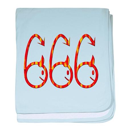 666 baby blanket
