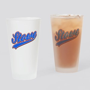 Stowe Tackle and Twill Drinking Glass