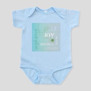 Joy Rising Aqua Sky Infant Bodysuit