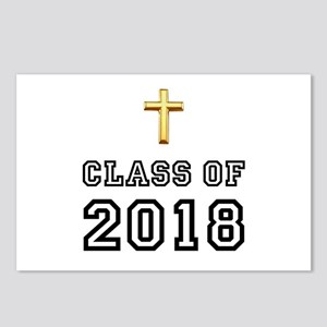 Class Of 2018 Cross Postcards (Package of 8)