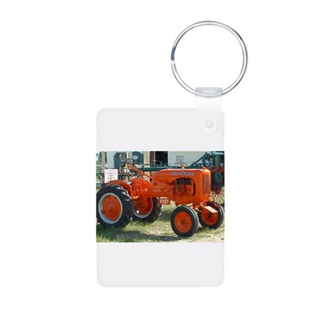 1937 Allis Chalmer Tractor Aluminum Photo Keychain