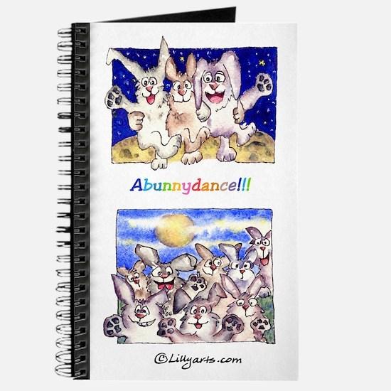 Full Moon Rabbits Journal