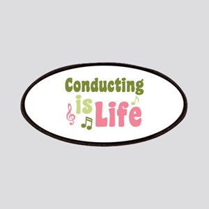 Conducting is Life Patches