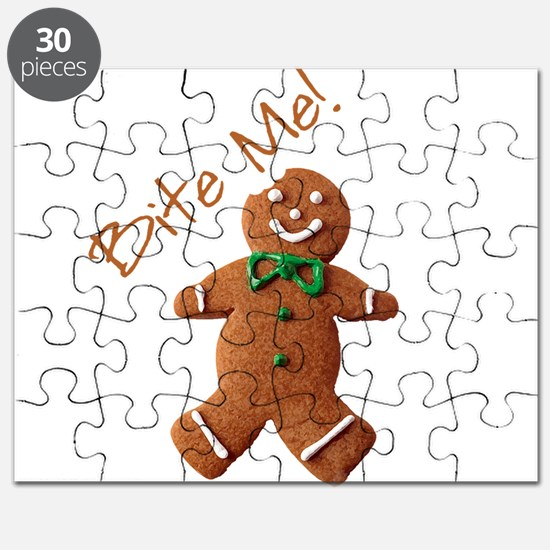 Unique Gingerbread man Puzzle