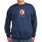 Birding Is Good For You Sweatshirt (dark)