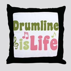 Drumline is Life Throw Pillow