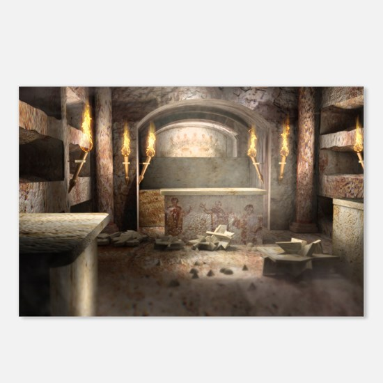 Catacomb Postcards (Package of 8)