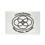 Living Multiple Rectangle Magnet (10 pack)
