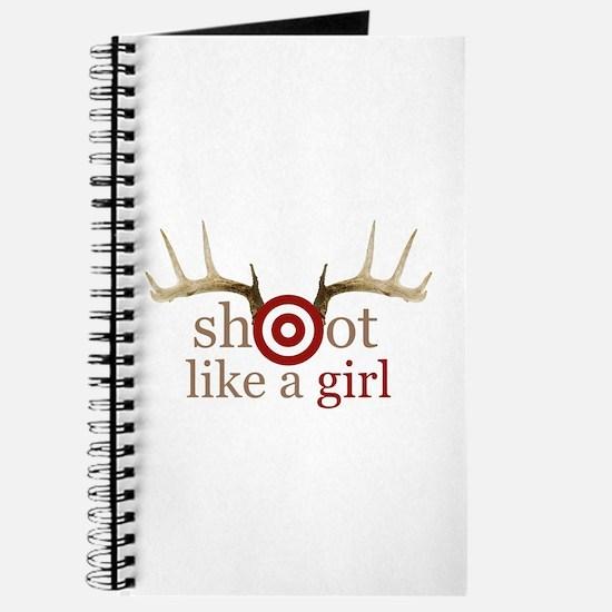Cute Girls camping Journal