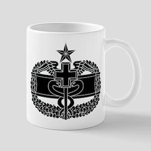Combat Medical Badge 2nd Award B-W Mug
