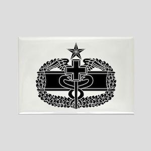 Combat Medical Badge 2nd Award B-W Rectangle Magne