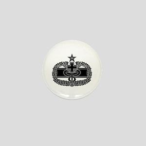 Combat Medical Badge 2nd Award B-W Mini Button