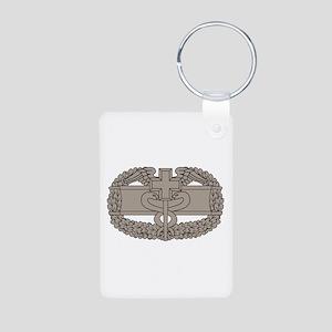 Combat Medical Badge Aluminum Photo Keychain