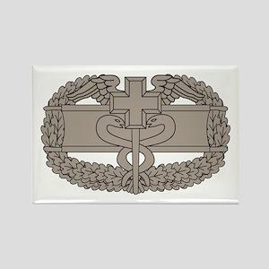 Combat Medical Badge Rectangle Magnet