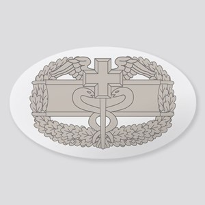 Combat Medical Badge Sticker (Oval)