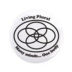 "Living Plural 3.5"" Button (100 pack)"