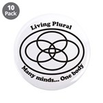 "Living Plural 3.5"" Button (10 pack)"