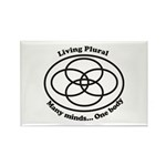 Living Plural Rectangle Magnet (10 pack)