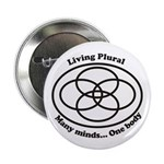 "Living Plural 2.25"" Button (100 pack)"
