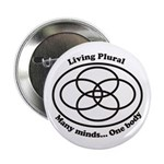 "Living Plural 2.25"" Button"