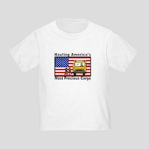 School Bus Precious Cargo Toddler T-Shirt