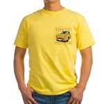 Yellow T-Shirt Figaro Topaz Mist with 89
