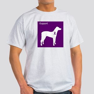 iSupport Dog 2 Ash Grey T-Shirt
